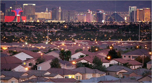 Vegas homes no longer a bad gamble